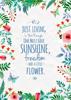 Floral Quotes - Term 4