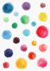 Back Cover - Colourful Paint Spots