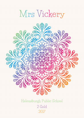 Front Cover - Colourful Floral Design