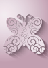 Back Cover - Flat Ornamental Butterfly