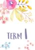 Watercolour Flowers 1 - Term 1