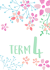 Watercolour Flowers 1 - Term 4