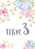 Watercolour Flowers 2 - Term 3