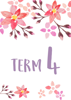 Watercolour Flowers 2 - Term 4