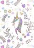 Back Cover - Unicorn 3 - Purple