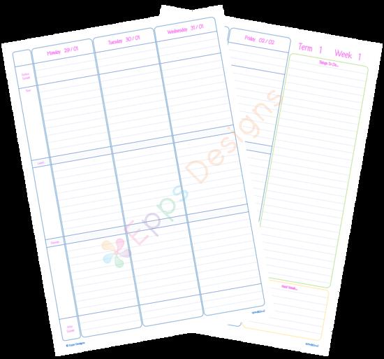 10-Weekly Planner - Primary School[v2]