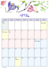 FloralCalendar - April