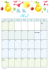 FloralCalendar - July