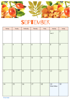 FloralCalendar - September