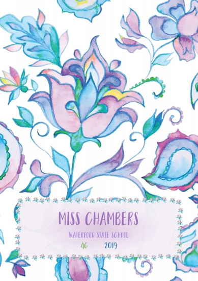 Front Cover - Bright Whimsical Flowers 4