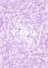 Floral Ornaments - Purple - Back Cover