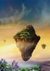 Floating Islands - Back Cover