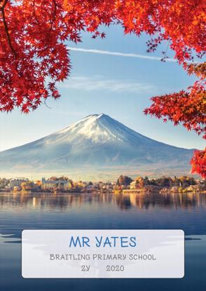 Mt Fuji - Front Cover