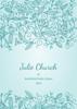 Front Cover - Floral Ornaments - Aqua