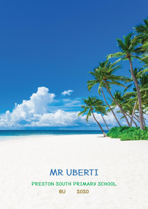 Island Beach - Front Cover