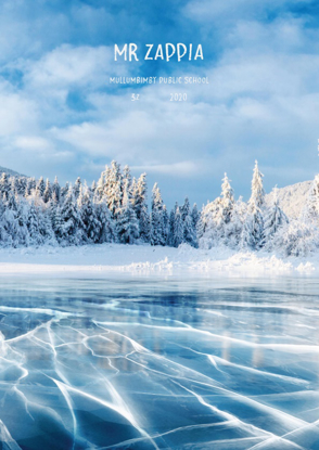 Frozen Lake - Front Cover